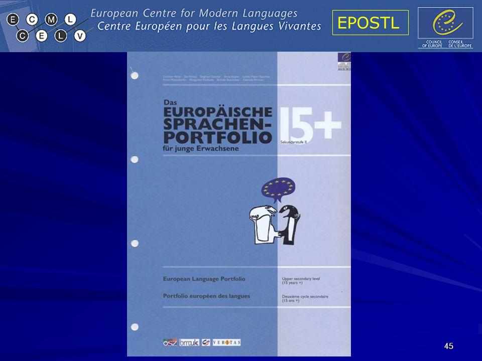 EPOSTL 45
