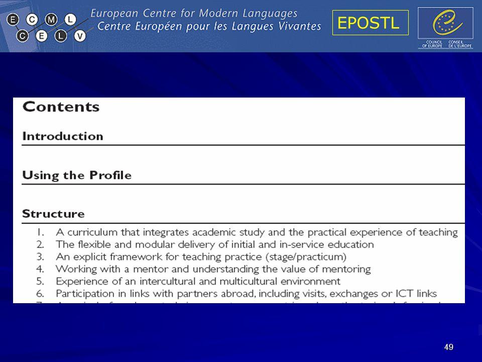 EPOSTL 49