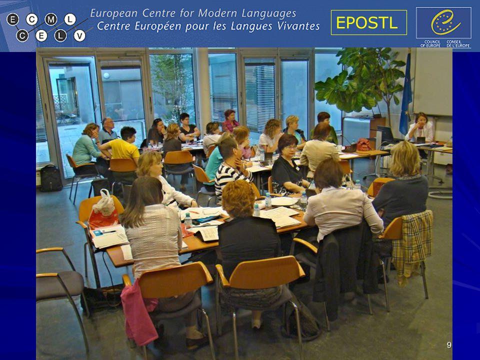 EPOSTL 20 The structure of the EPOSTL