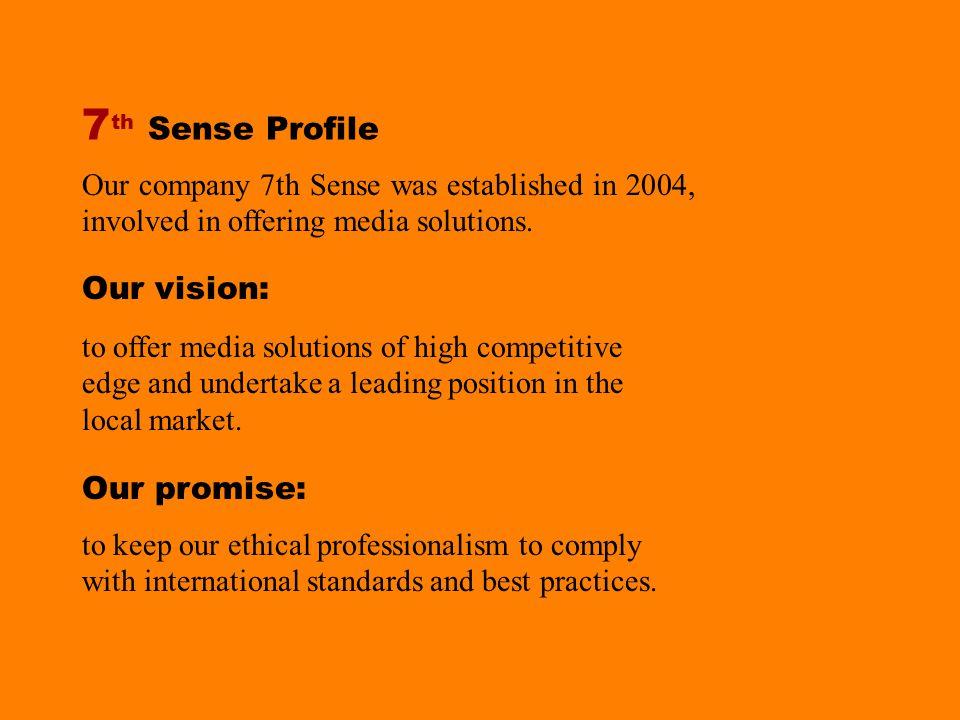 7 th SENSE Creative Solutions