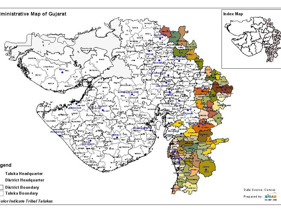 7 Administrative Mechanism Tribal Area Sub Plans Specifically earmarked budget for Tribal areas in proportion to their population Funds are non-divertible Tribal Development Department entrusted with planning and budgetary powers for TASP funds Result Gujarat earmarks 14.8% of its budget for tribal areas Adverse indicators have been arrested Many innovative programmes launched Good infrastructure development