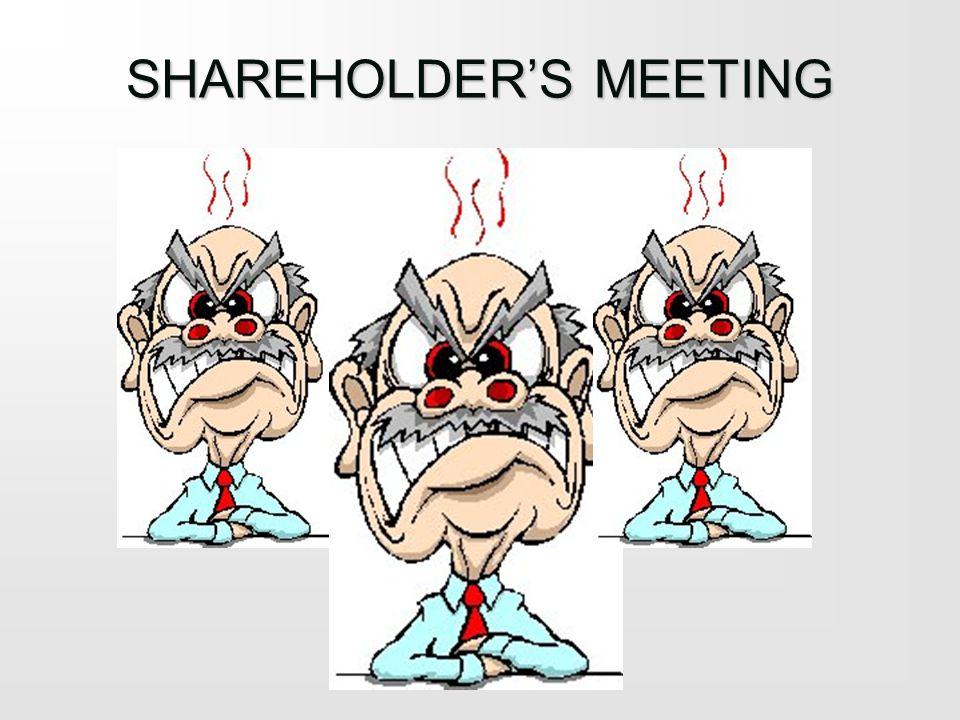 SHAREHOLDERS MEETING