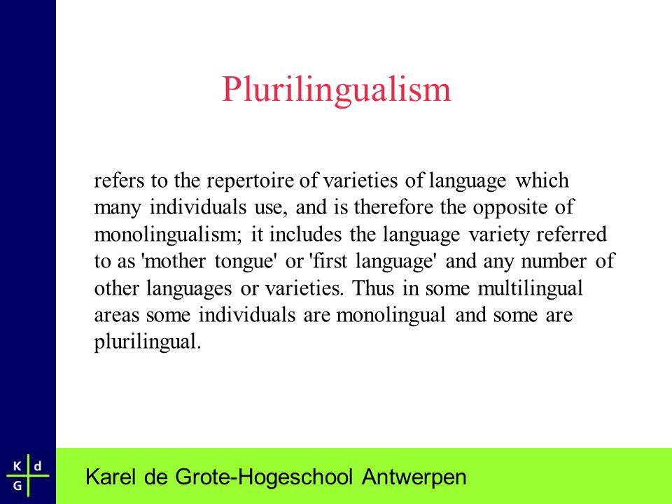 Karel de Grote-Hogeschool Antwerpen EuroIntegrELP project assessment.