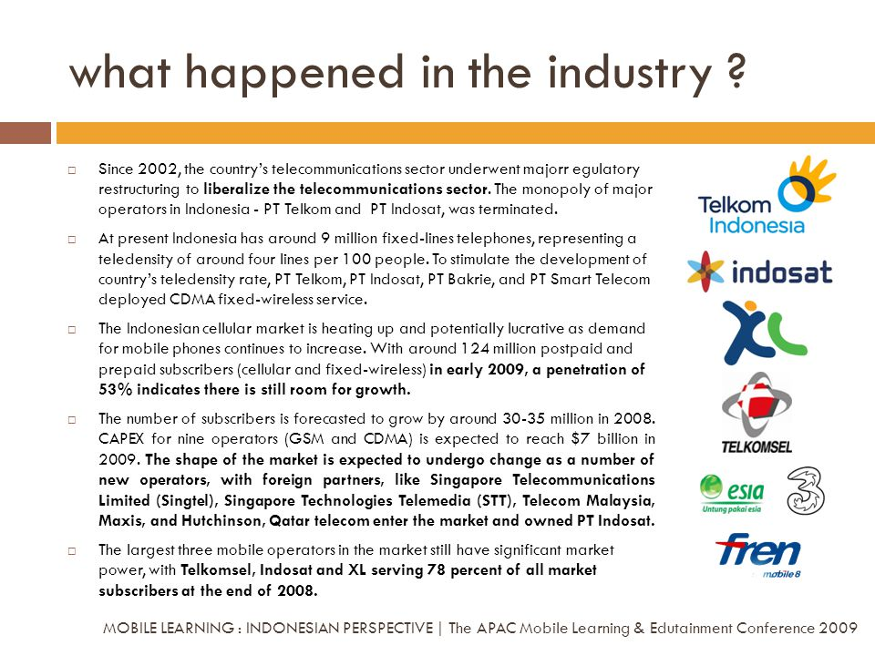 Since 2002, the countrys telecommunications sector underwent majorr egulatory restructuring to liberalize the telecommunications sector. The monopoly