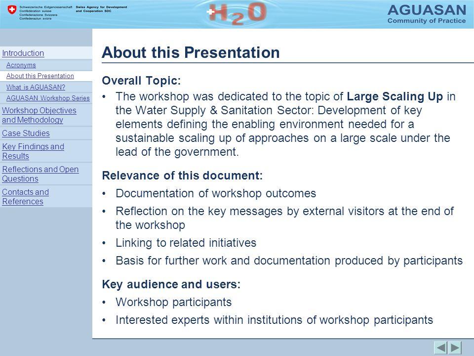 Case Study: India Total Sanitation & Sanitation Marketing, A.