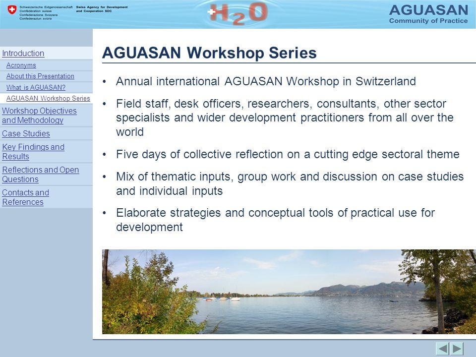 Case Study: Nicaragua AGUASAN Rural Water & Sanitation, C.