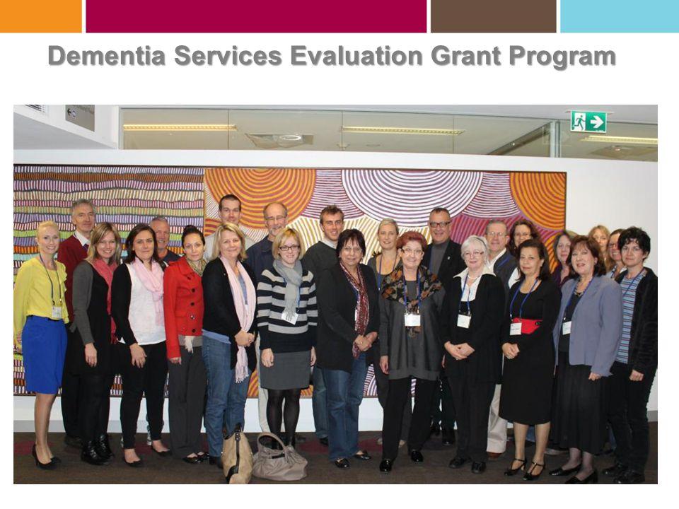 Dementia Services Evaluation Grant Program