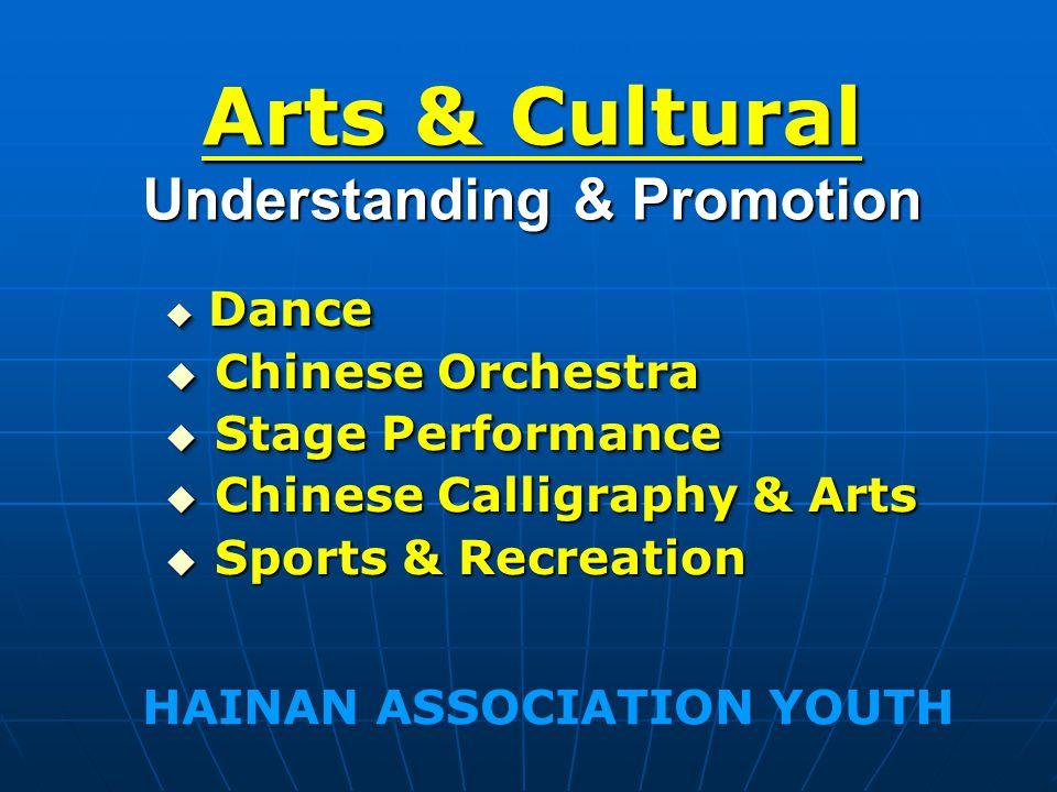 Arts & Cultural Understanding & Promotion Dance Dance Chinese Orchestra Chinese Orchestra Stage Performance Stage Performance Chinese Calligraphy & Ar