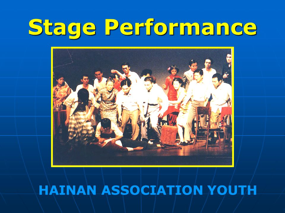 Stage Performance HAINAN ASSOCIATION YOUTH