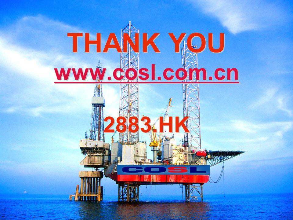 14 THANK YOU www.cosl.com.cn 2883.HK www.cosl.com.cn THANK YOU www.cosl.com.cn 2883.HK www.cosl.com.cn
