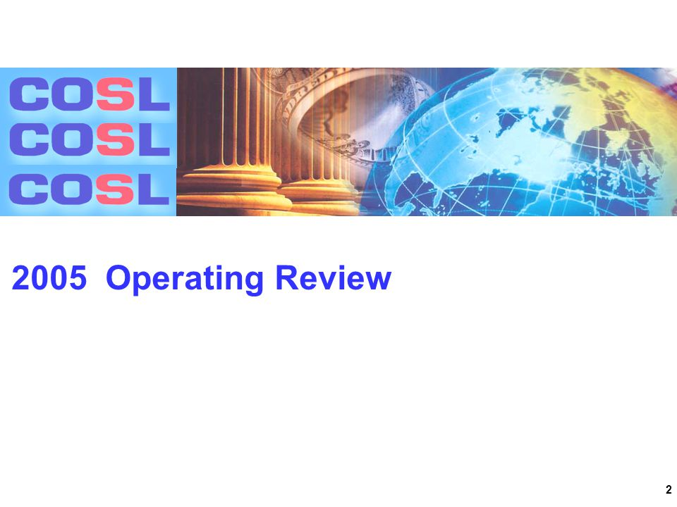 2 2005 Operating Review