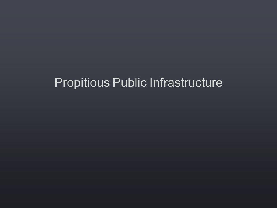 Propitious Public Infrastructure