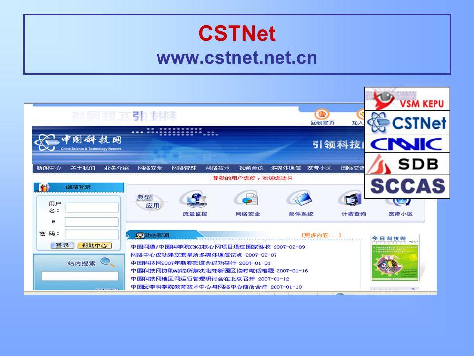 CSTNet www.cstnet.net.cn