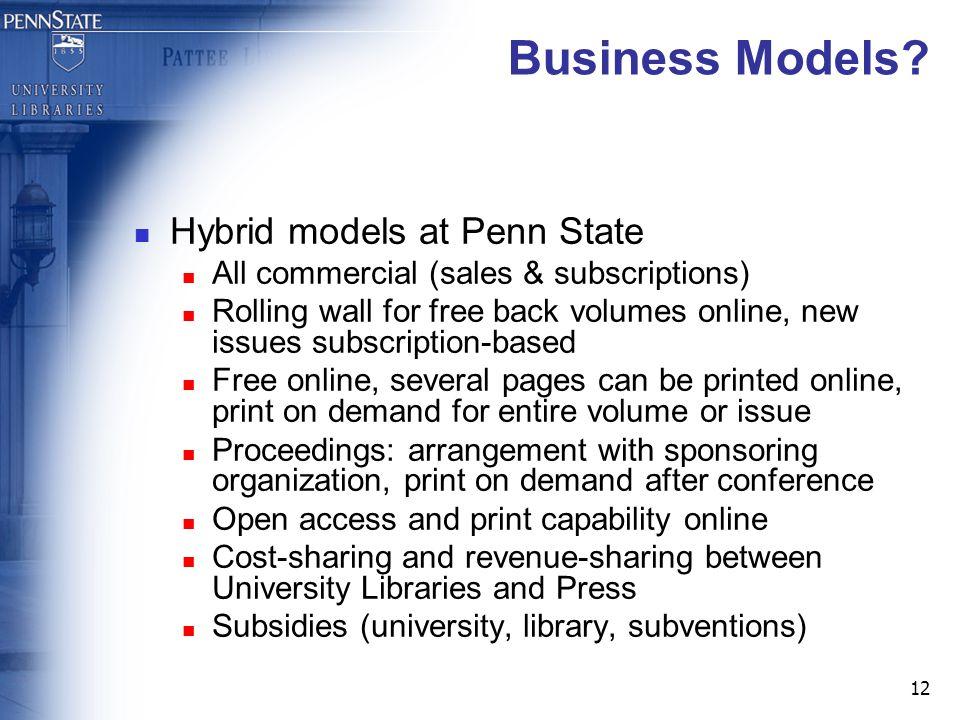 12 Business Models.