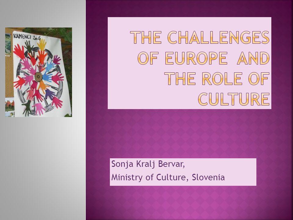 Sonja Kralj Bervar, Ministry of Culture, Slovenia