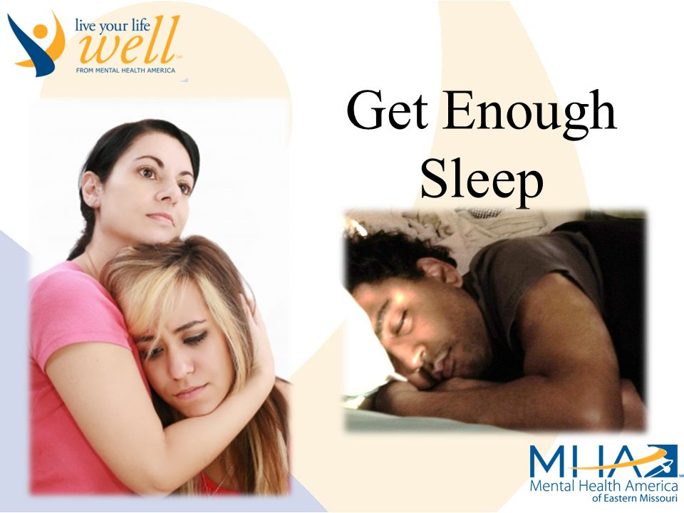 Live Your Life Well Get Enough Sleep
