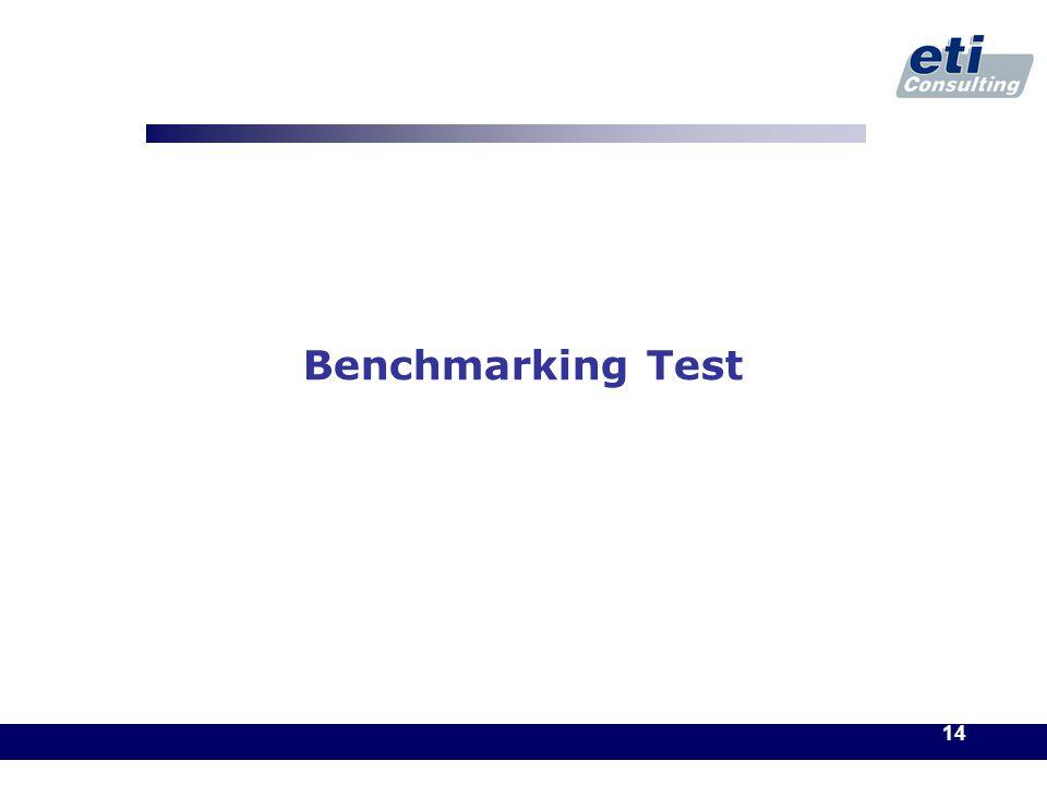 14 Benchmarking Test