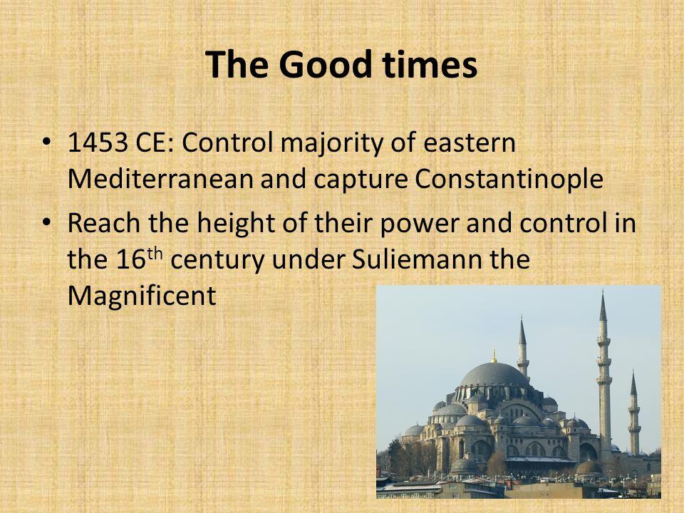 Like the Ottomans/Safavids, they...