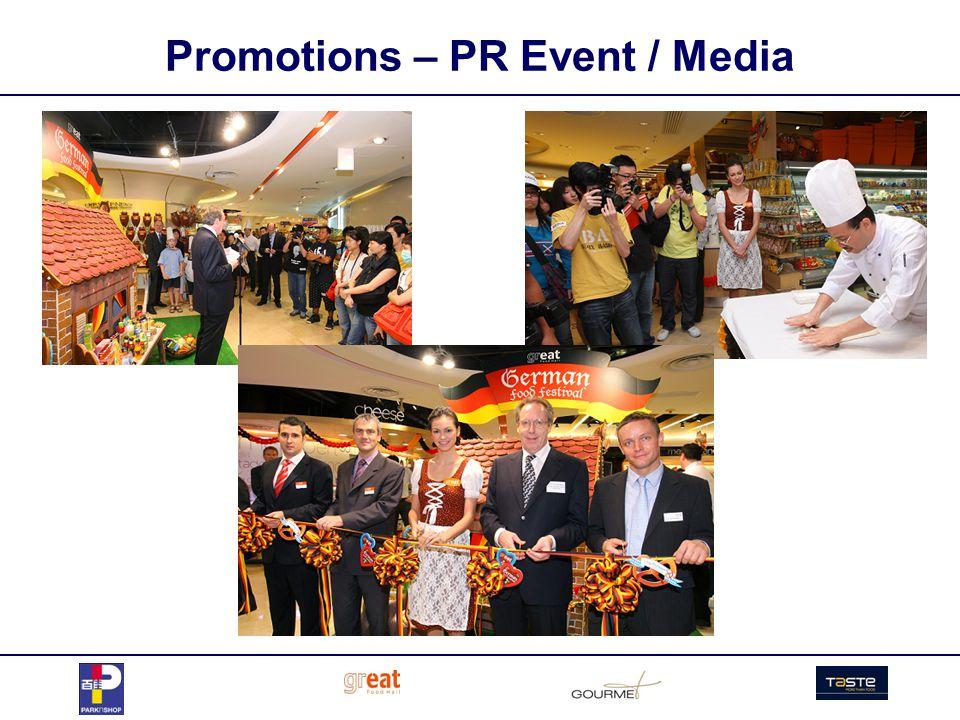 Promotions – PR Event / Media