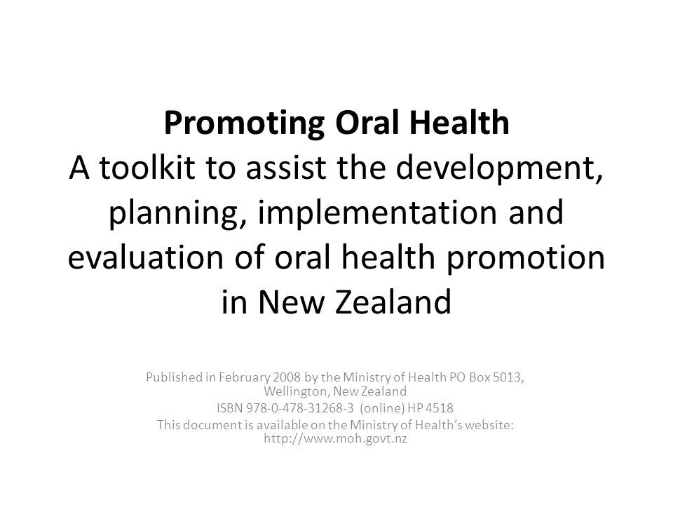 Developing a health promotion programme of any kind can be an ambitious task.