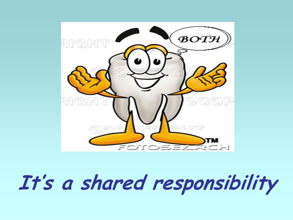 Its a shared responsibility