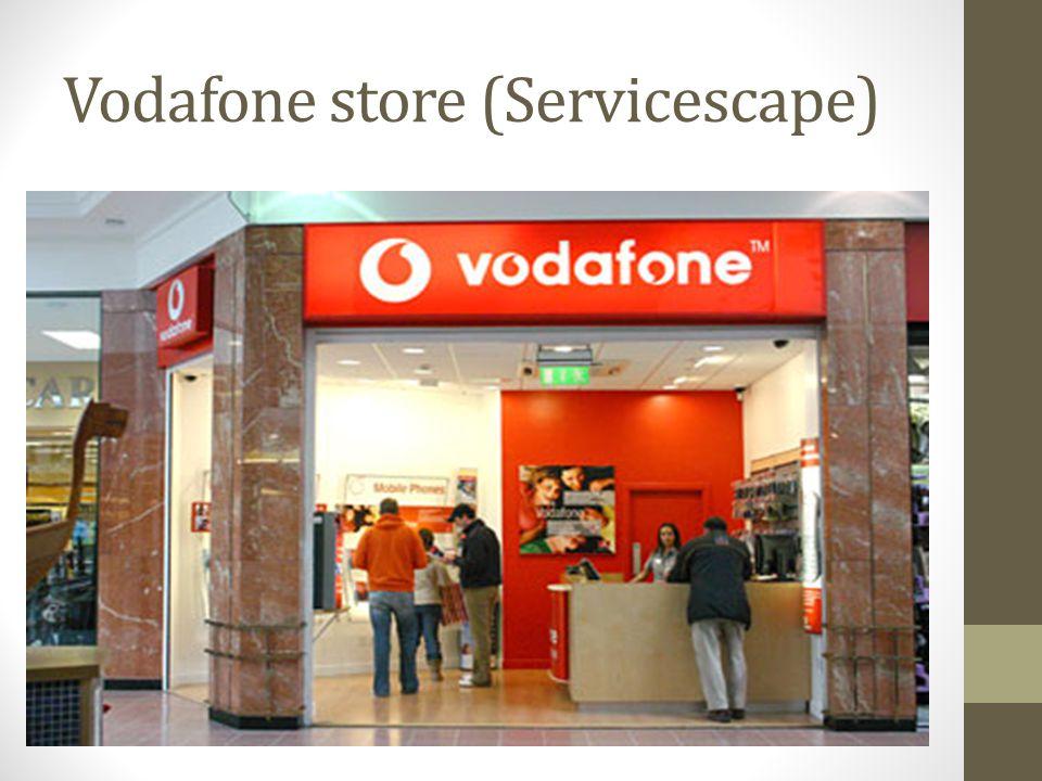 Vodafone store (Servicescape)