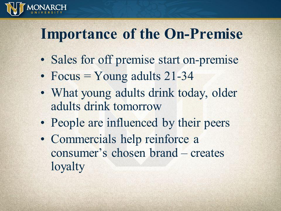 On–Premise Monarch Beverage