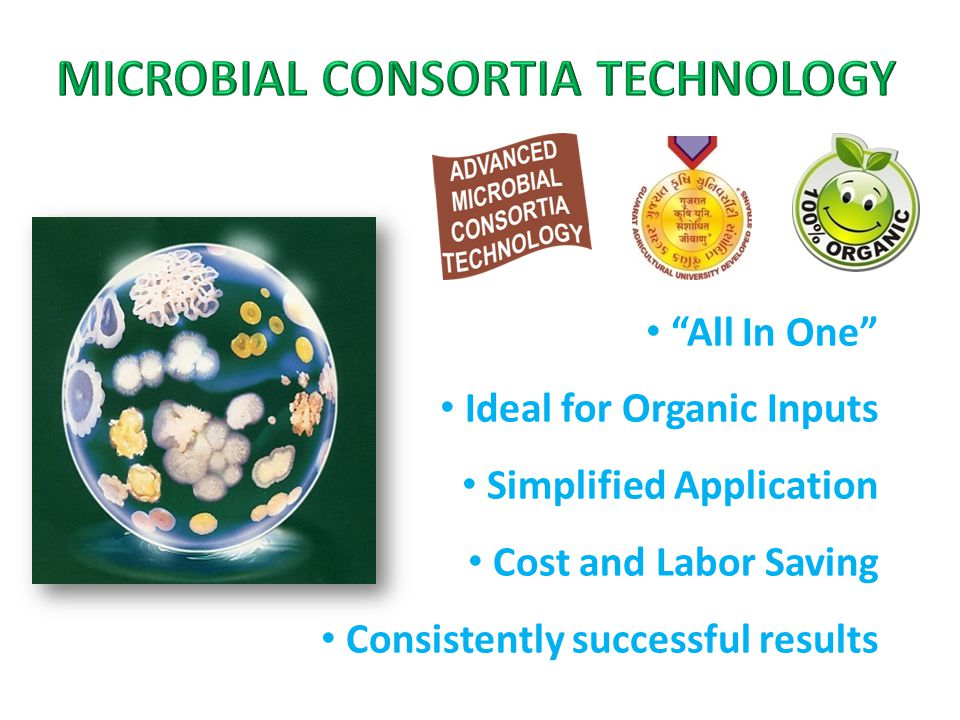 All In One Ideal for Organic Inputs Simplified Application Cost and Labor Saving Consistently successful results