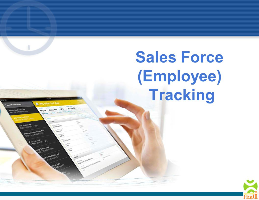 Sales Force (Employee) Tracking