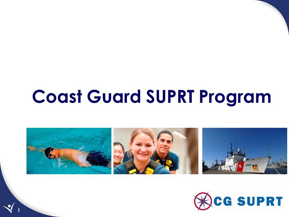 1 Coast Guard SUPRT Program