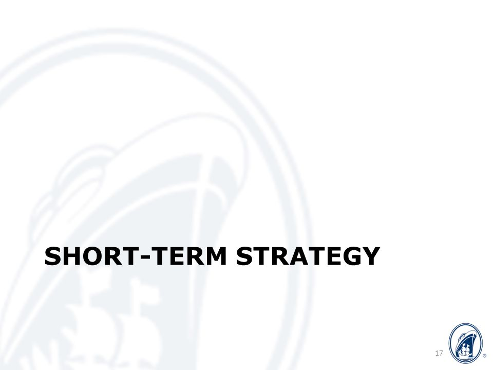 SHORT-TERM STRATEGY 17