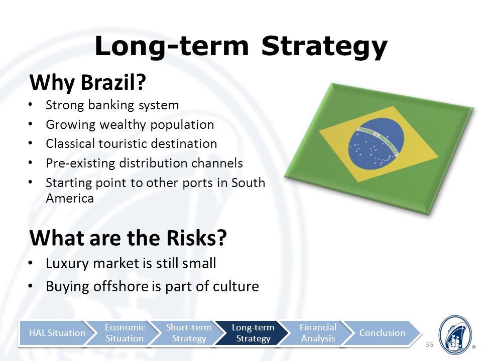 Long-term Strategy Why Brazil.