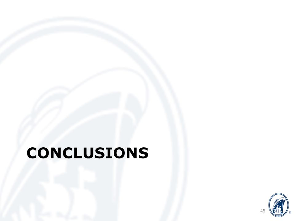 CONCLUSIONS 48