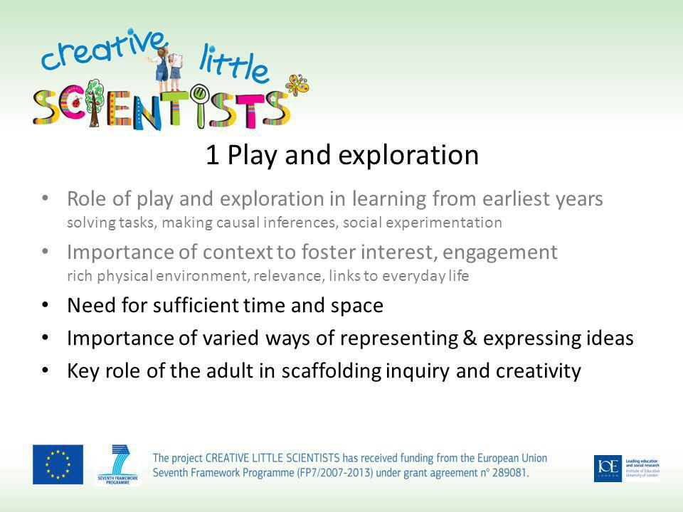 How you can be involved Express interest via the website www.creative-little-scientists.eu click on Participate (main menu at the top of the page)www.creative-little-scientists.eu Encourage teachers to participate in the survey – https://www.surveymonkey.com/s/CreativeLittleScientists-EN – https://www.surveymonkey.com/s/CreativeLittleScientists-SCOT – https://www.surveymonkey.com/s/CreativeLittleScientists-NI – https://www.surveymonkey.com/s/CreativeLittleScientists-WALES Suggest schools that might be interested in the in depth research Participate in focus groups linked to development of teacher education materials Participate in dissemination events