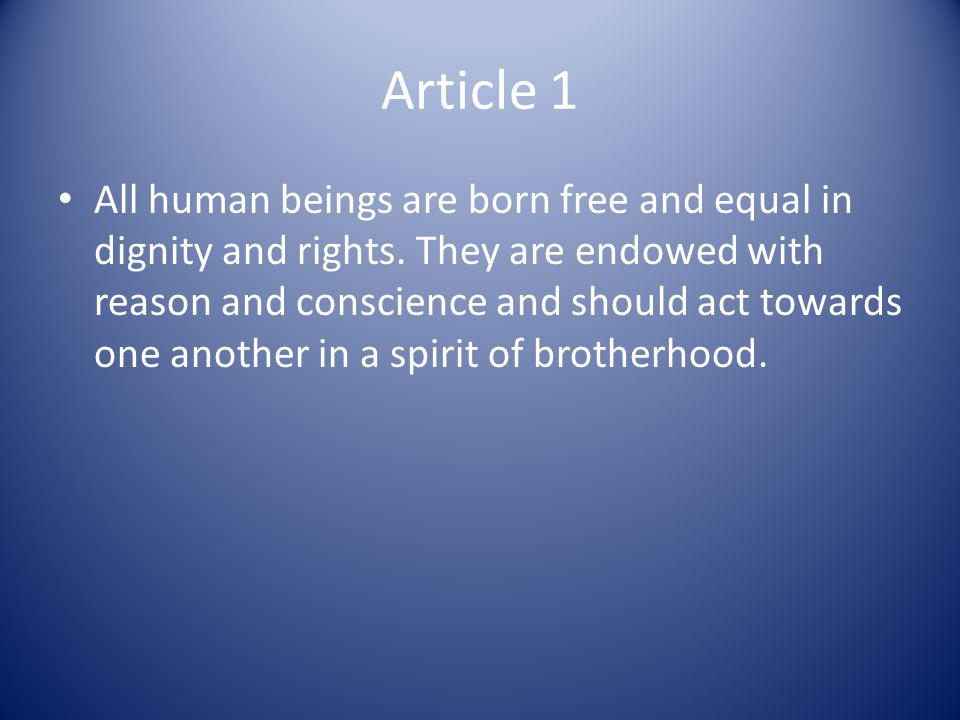 Article 2 Everyone is entitled to all the rights and freedoms set forth in this Declaration, without distinction of any kind, such as race, colour, sex, language, religion, political or other opinion, national or social origin, property, birth or other status.