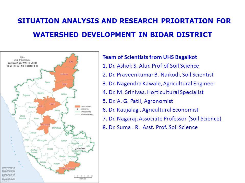 General information of Bidar District Lies between 17 o 35 !.