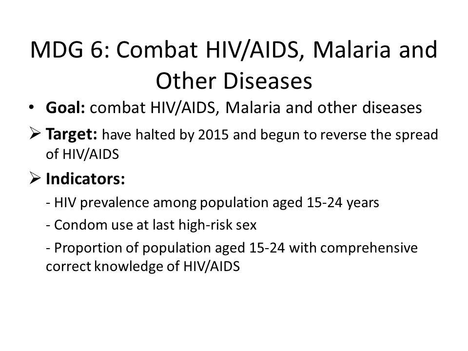 MDG 5: Maternal Health Goal: reduce maternal mortality Target: to reduce by 3/4 between 1990-2015 maternal mortality ratio Indicators: - Maternal mort
