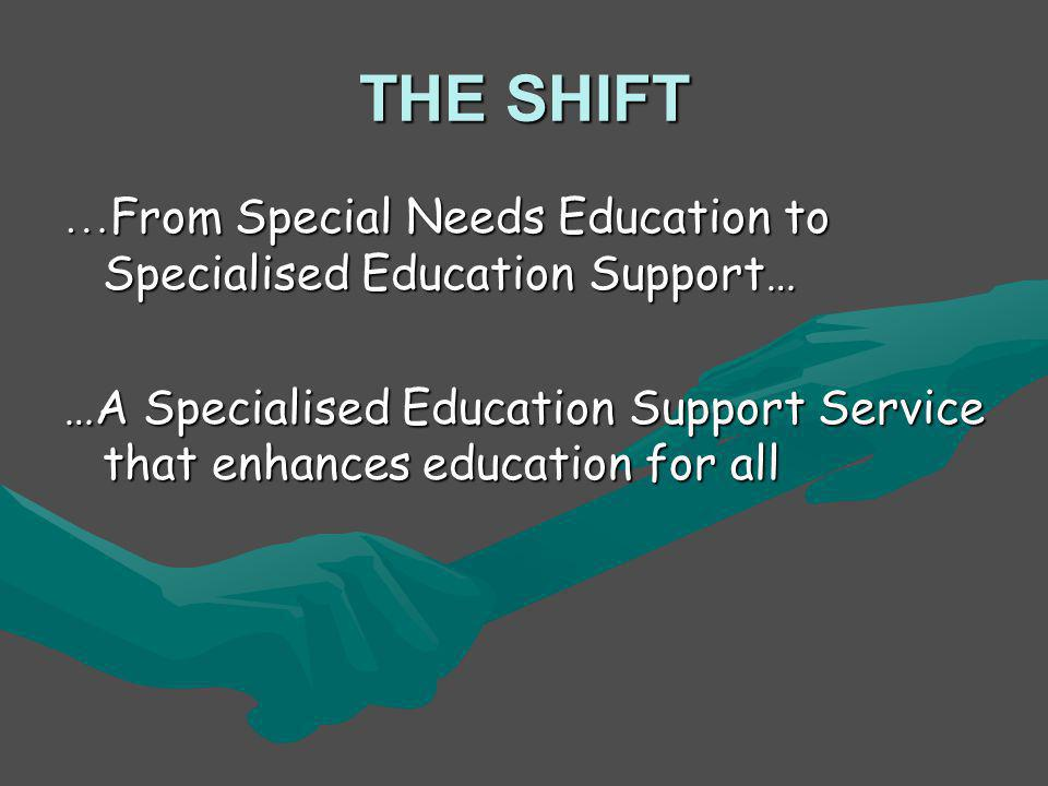 Operationalising the plan for Strengthening Specialised Education Support