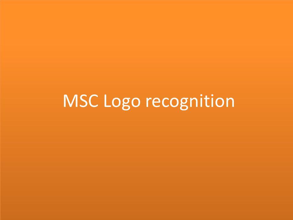 MSC Logo recognition