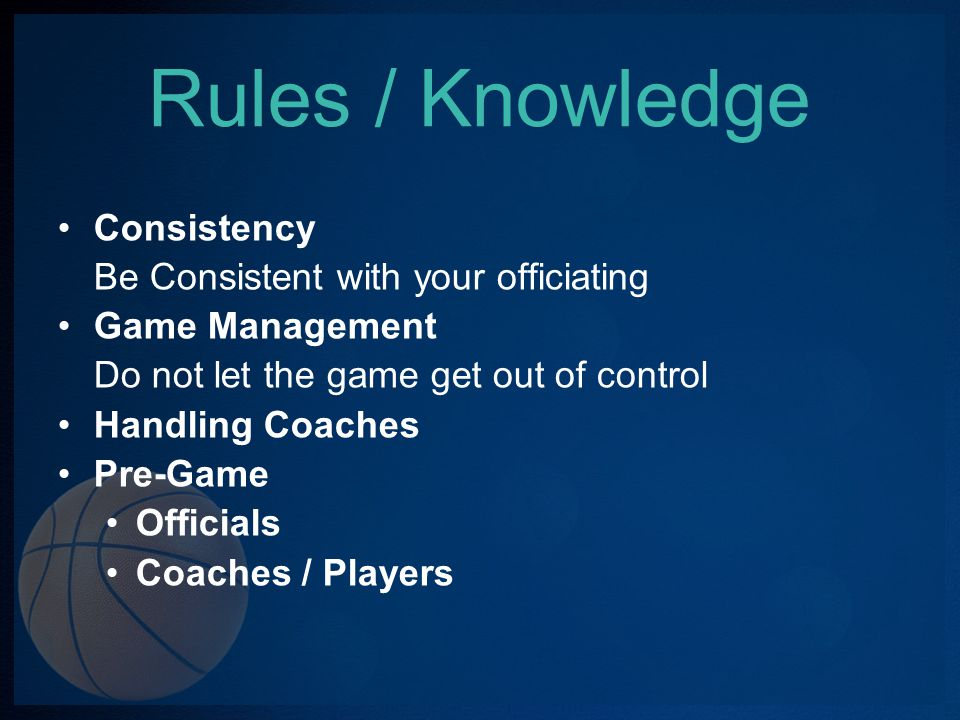 Rules / Knowledge Double Fouls No Free Throw ball is put in play at point of interruption.