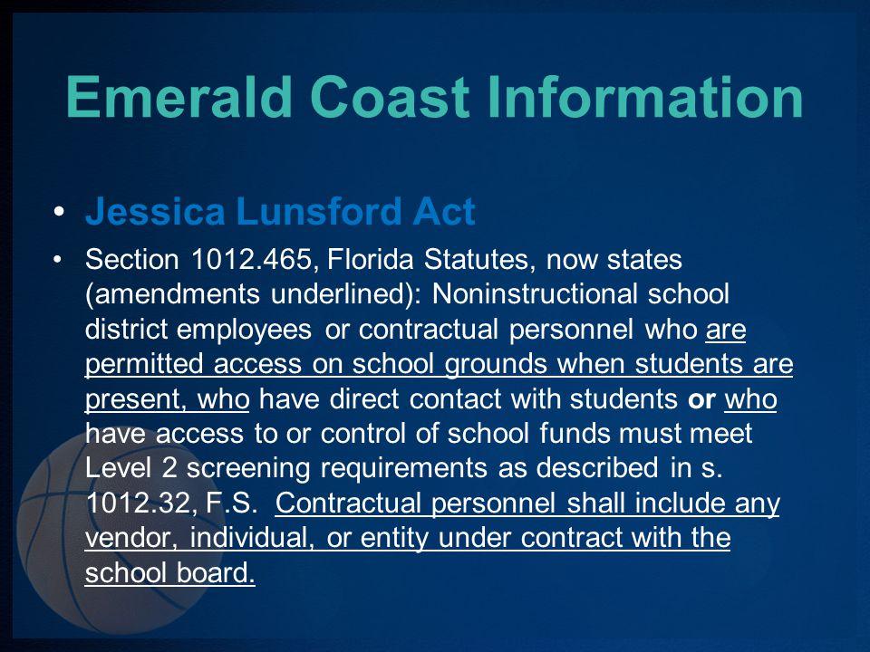 Emerald Coast Information Games Fees Varsity$45.00 Jr.