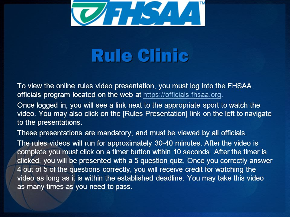 NFHS Editorial Changes 3-5-1 New Note A new note was added authorizing state associations to grant exceptions to NFHS playing rules for participants with disabilities, special needs and/or extenuating circumstances.
