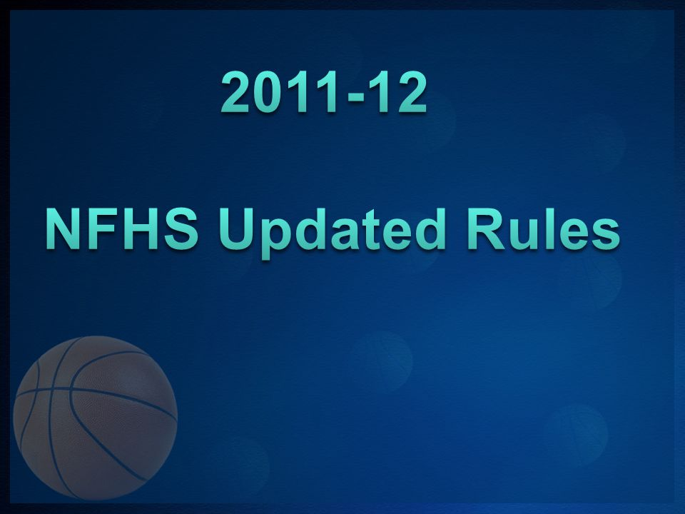 NFHS Editorial Changes 6-4-3e, g & Note Alternating-possession throw-in situations were clarified.