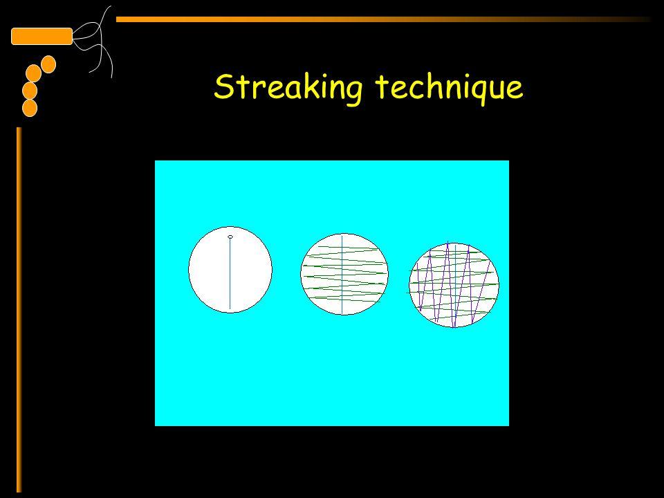 Streaking technique