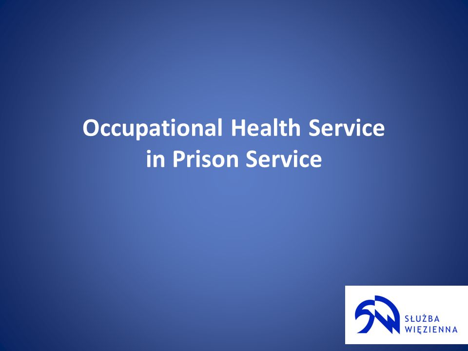 Occupational Health Service 4) cooperate with the heads of other organizationalunits of the Prison Service in the process of recognition and minimizing harmful risk factorsand their impact on officers and employees health;