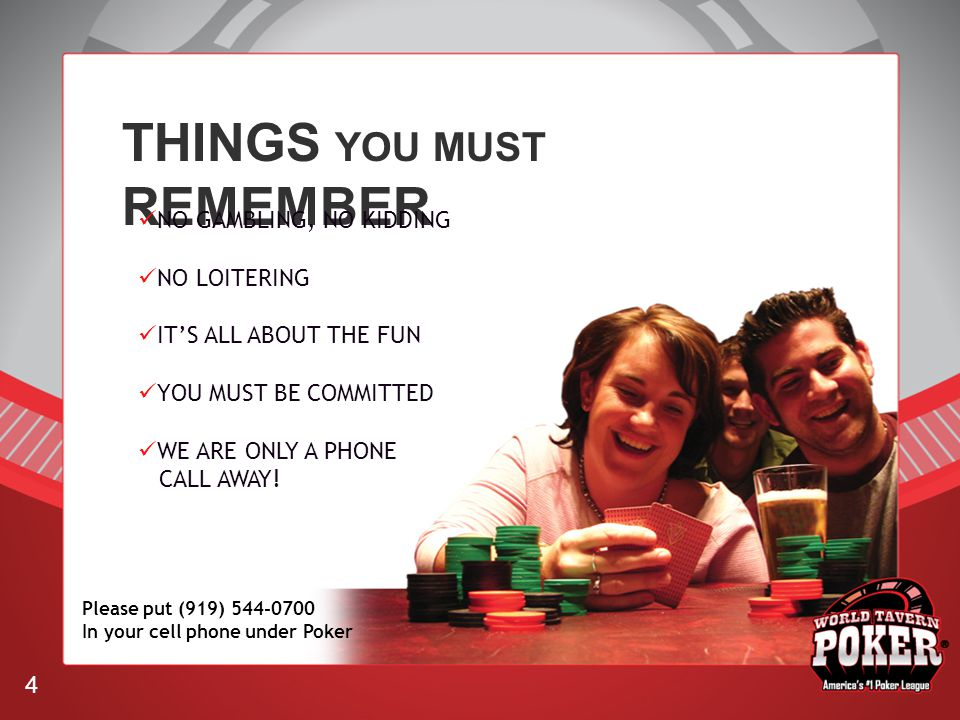 THINGS YOU MUST REMEMBER NO GAMBLING, NO KIDDING NO LOITERING ITS ALL ABOUT THE FUN YOU MUST BE COMMITTED WE ARE ONLY A PHONE CALL AWAY.