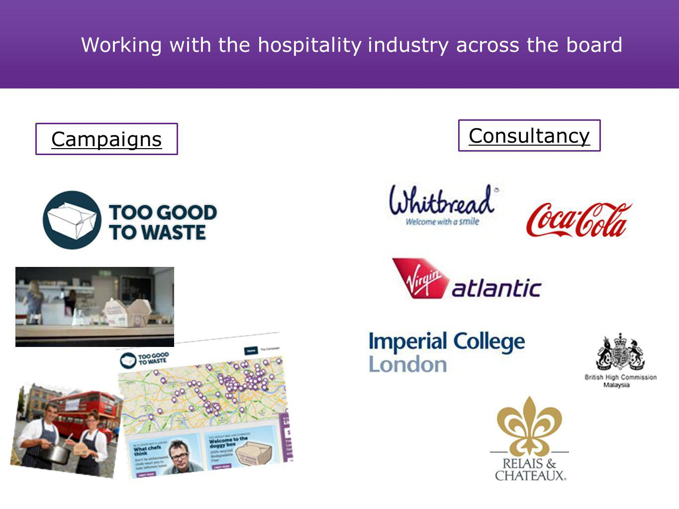 Working with the hospitality industry across the board Campaigns Consultancy