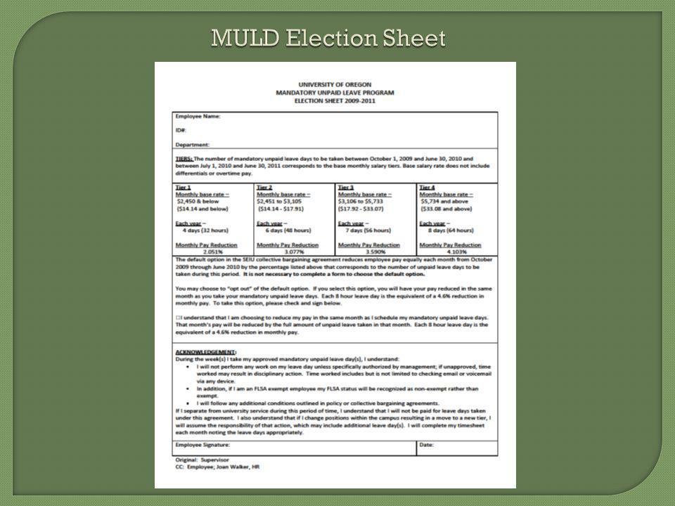 MULD Election Sheet