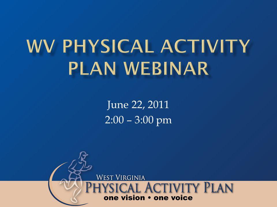 June 22, 2011 2:00 – 3:00 pm