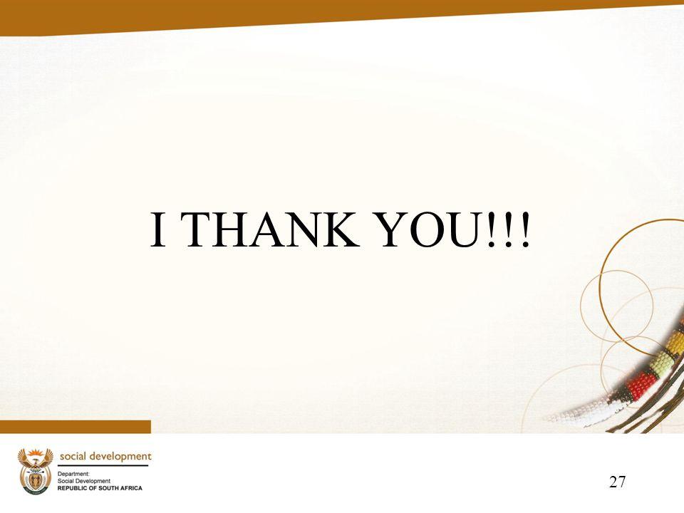 27 I THANK YOU!!!